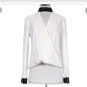 Intermix exclusive white blouse